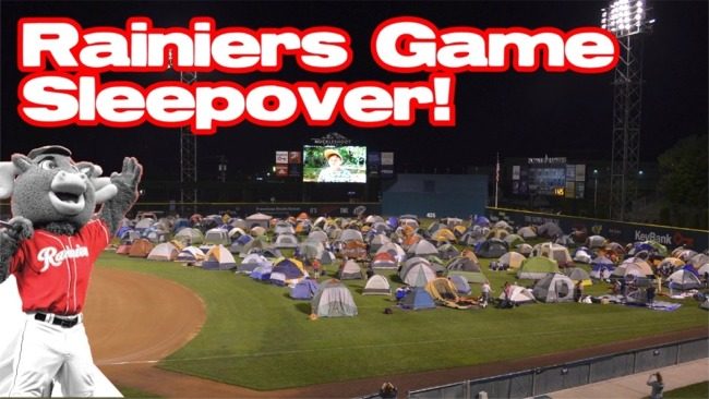 Read more: T-727 Rainiers Game Sleepover