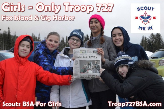 Read more: New Member Join Night - Scouts BSA Girl Troop 727